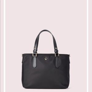 New Kate spade Taylor small xbody tote black